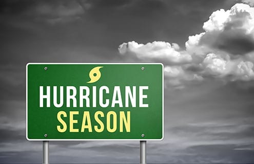 Hurricane Season is upon us, Call us if you need us.