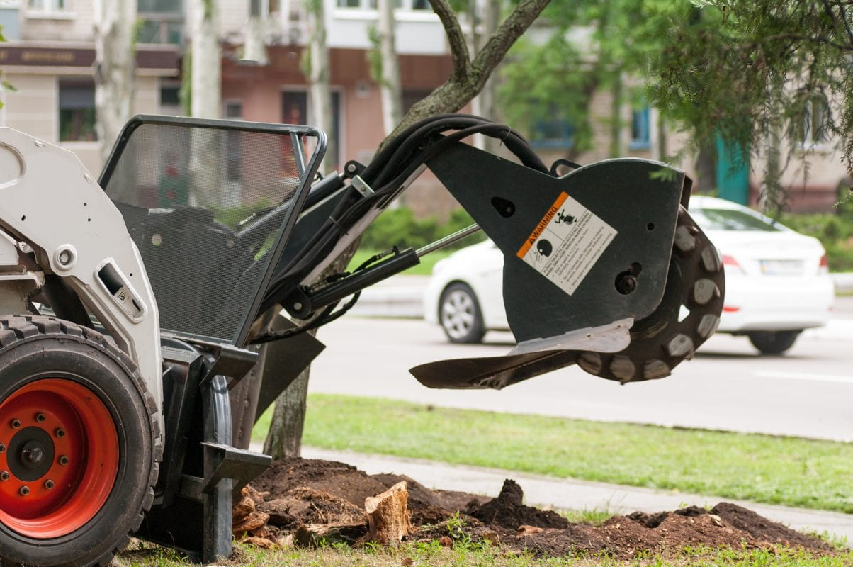 Kelley Tree Service Stump Grinding