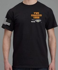 Get Your Two Cracked Eggs Cafe T-Shirt Today.