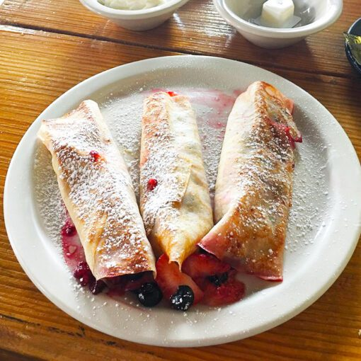 Sweet Crepes made to order